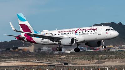Eurowings / Airbus A320-214(WL) / D-AEWM / Boomerang Club Livery