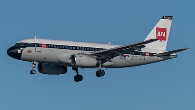 British Airways / Airbus A319-131 / G-EUPJ / BEA Livery