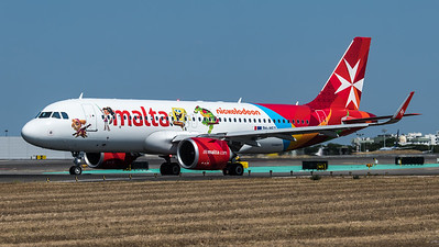 Air Malta / Airbus A320-251N / 9H-NEO / Nickelodeon Livery