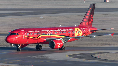 Brussels Airlines / Airbus A320-214 / OO-SNA / Red Devils Livery