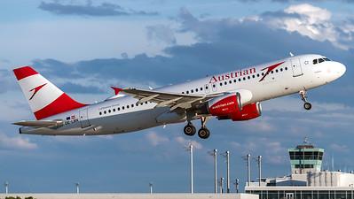 Austrian Airlines / Airbus A320-214 / OE-LBN