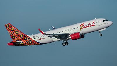 Batik / Airbus A320-214 / F-WWDY (to be PK-LAH)