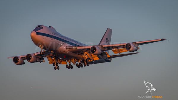 US Air Force Boeing E-4B 73-1676 @ Munich