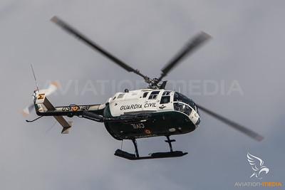 Guardia Civil / Bo-105CB / HU 15-92 09-120