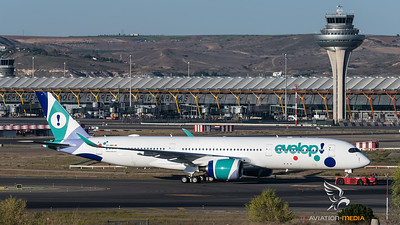 Evelop goes A350 (Madrid)
