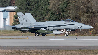 Spanish Air Force Ala 12 / McDonnell Douglas EF-18A+ Hornet / C.15-51 12-09