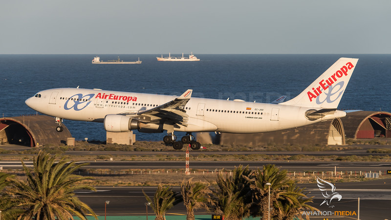 Air Europa A330 old colours (Gran Canaria)