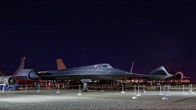 US Air Force / Lockheed SR-71A Blackbird & A-12 Oxcart / 61-7973 & 60-6924