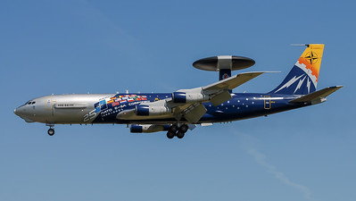NATO / Boeing E-3A AWACS / LX-N90443 / NATO AWACS 25 Years E-3A Component Livery