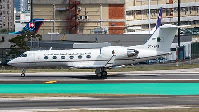 Algeria Government / Gulfstream G-IV-SP / 7T-VPS