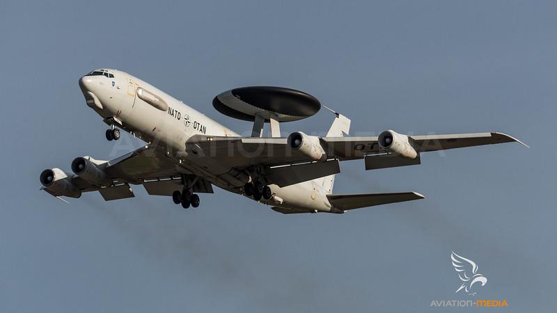 AWACS on approach (Manching)