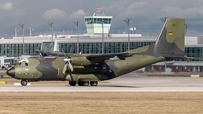 German Air Force / Transall C-160D / 50+36