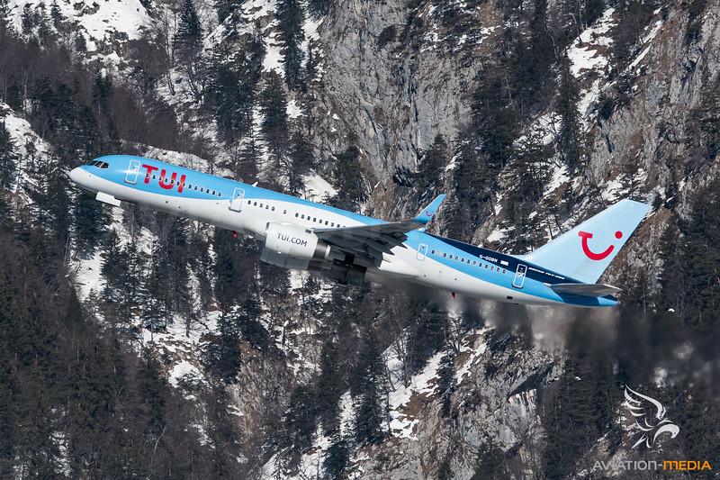 Tui Boeing 757-200 G-OOBN @ INN (Innsbruck)
