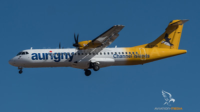 Aurigny Channel Islands ATR (Gran Canaria)