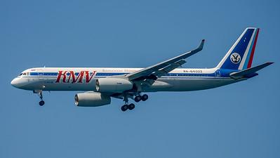 KMV Kavminvodyavia / Tupolev Tu-204-100 / RA-64022