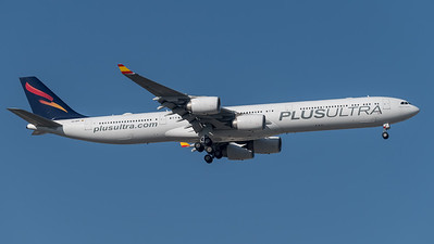 Plus Ultra / Airbus A340-642 / EC-NFP