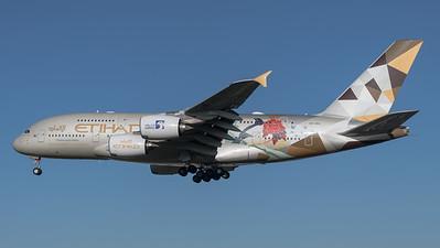 Etihad Airways / Airbus A380-861 / A6-APG / Choose South Korea Livery