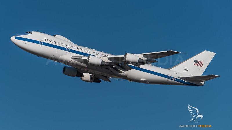 E-4B on takeoff @ MUC (Munich)