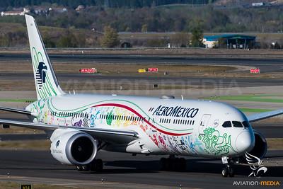 AeroMexico / Boeing B787-9 / XA-ADL / Quetzalcoatl Livery