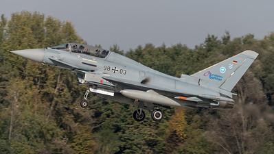 German Air Force WTD-61 / Eurofighter Typhoon / 98+03