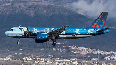 Brussels Airlines / Airbus A320-214 / OO-SNC / Magritte Livery