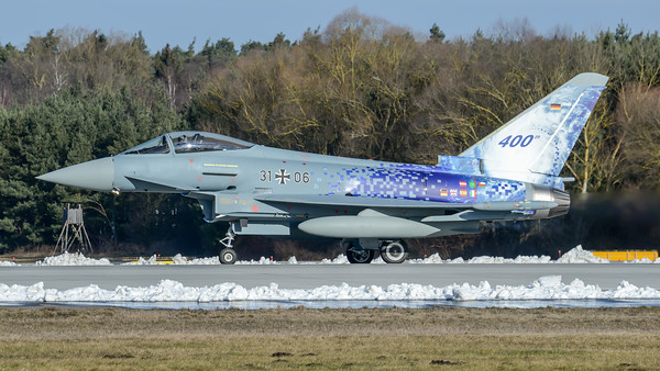 German Air Force / Eurofighter Typhoon / 31+06 / 400th Eurofighter Typhoon Livery