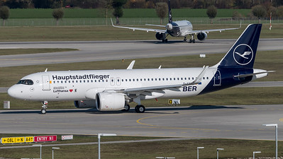 Lufthansa / Airbus A320-271N / D-AINZ / Hauptstadtflieger Livery