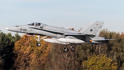 Spanish Air Force Ala 12 / McDonnell Douglas EF-18A+ / C.15-51 12-09