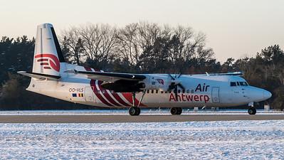 Air Antwerp / Fokker F50 / OO-VLS