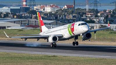 TAP / Embraer ERJ-190LR / CS-TPQ