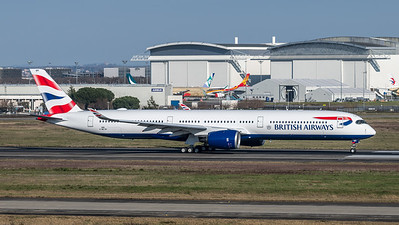 British Airways / Airbus A350-1041 / F-WZGP (to be G-XWBE)