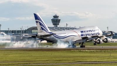 National Airlines / Boeing 744-412(BCF) / N756CA