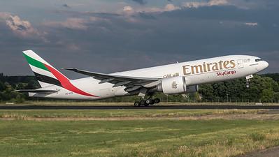 Emirates Sky Cargo / Boeing B777-F1H / A6-EFM