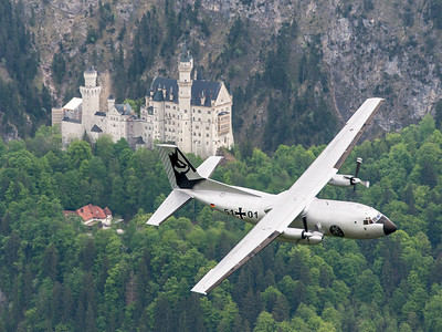 Luftwaffe / C-160D Transall / 51+01 / Silver Gams Livery
