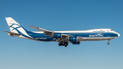 AirBridge Cargo / Boeing B747-8HVF / VQ-BRH