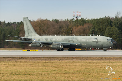 Israeli Air Force B707 at IGS (Manching)