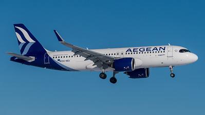 Aegean / Airbus A320-271N / SX-NED
