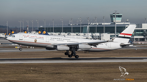 Egypt Government Airbus A340-200 SU-GGG @ Munich
