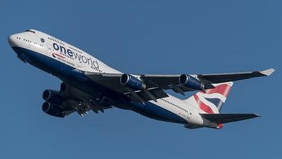 British Airways / Boeing B747-436 / G-CVIP / OneWorld Livery