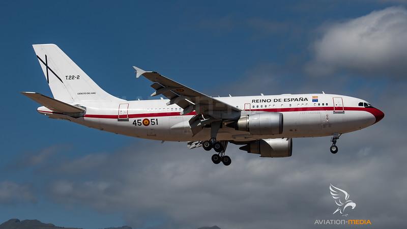 Spanish Air Force A310 (Gran Canaria)
