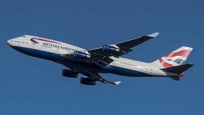 British Airways / Boeing B747-436 / G-BYGF