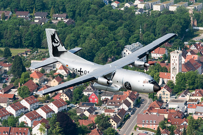 German Air Force / C-160D Transall / 51+01 / Silver Gams Livery