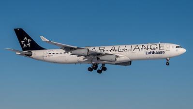 Lufthansa / Airbus A340-313 / D-AIGN (Star Alliance Livery)