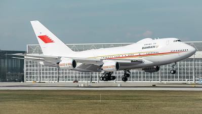 Kingdom of Bahrain / Boeing B747SP / A9C-HAK