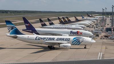 Egyptair Cargo / Airbus A330-243 (PCF) / SU-GCJ