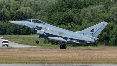 German Air Force TLG 73 / Eurofighter Typhoon / 30+73 / Steinhoff markings