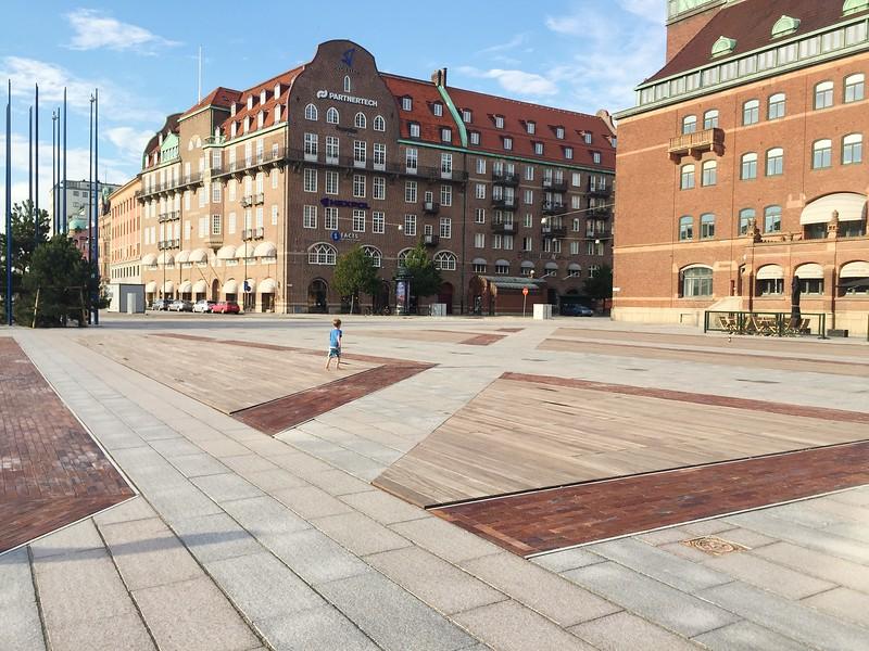 På Posthusplatsen, Malmö