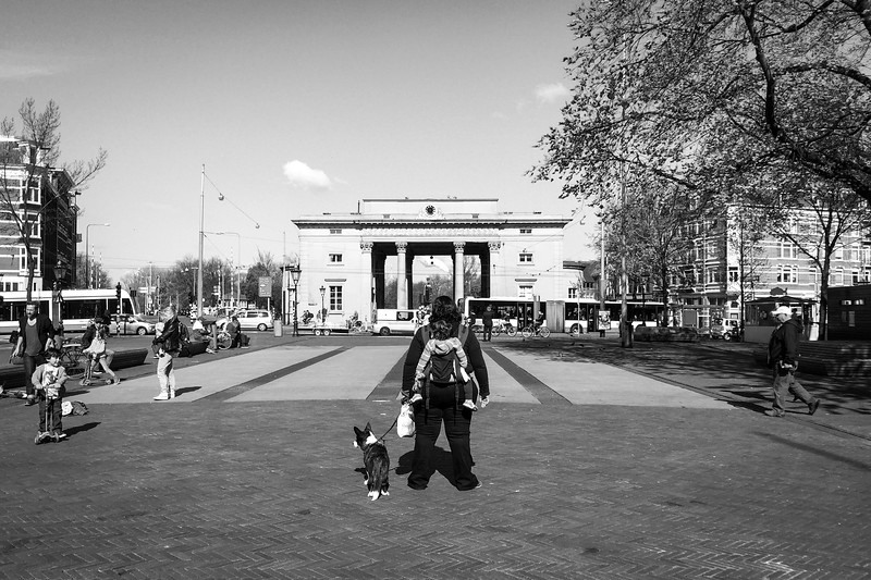 På Haarlemmerplein, Amsterdam