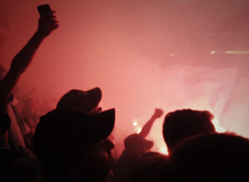 I en Hejarklack på Friends Arena, Solna