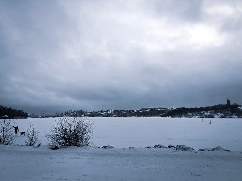 Vid Riddarfjärdens strand